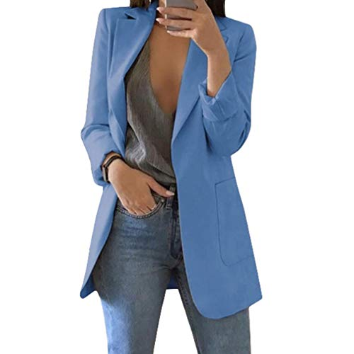 Mujer Manga Larga Blazer