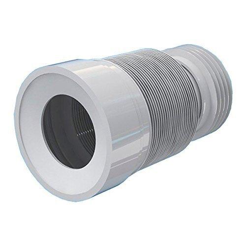 230-500mm Toilette Toilette Toilettenabflussrohr flexiblen Verbinder Erweiterungs Mundharmonika Wasseraustritt