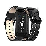 LYRLHB Sport Smart Watch, Pulsuhr, Armband, Fitness Smart Armband, Bluetooth Sportuhr, Touchscreen Anrufer ID, Herzfrequenz Blutdruck, Business Armband