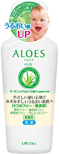 ALOES Milk a 160ml (japan import)