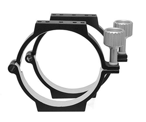 TS-Optics CNC Rohrschellen-Set 116mm für Teleskope, APCR116