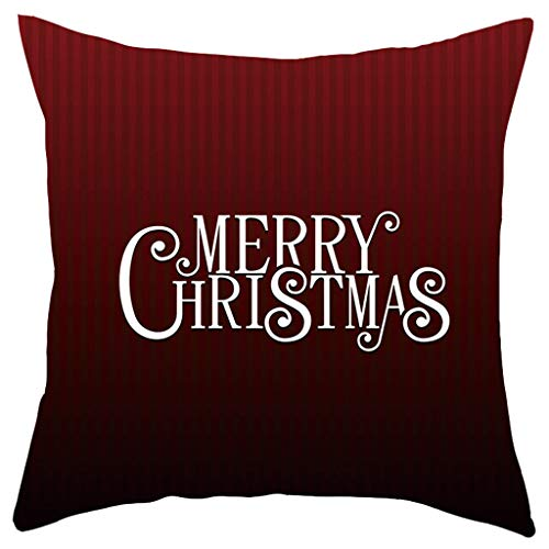 YSFWL Sofakissen DIY KissenbezüGe Weihnachten Kissenbezug Kurze Plüsch Pad Set Home Decoration Decorative Throw Pillow Case Home Zippered Covers Cushion Cover Office Wohnzimmer Dekorativ