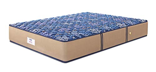 Peps Springkoil Bonnell 10-inch King Size Spring Mattress (Dark Blue,...