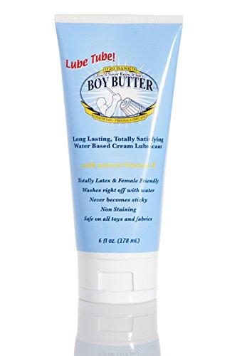 Boy Butter H2O Lube Tube Transparent 6oz - 6 Oz Shea-butter