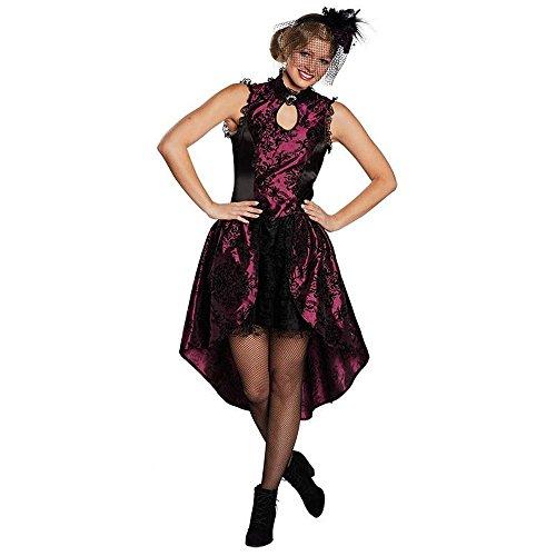 Rubie's Western Damen Kostüm Saloon Girl Vampirin Karneval Halloween Gr.38 (Girl Halloween-kostüme Saloon)