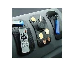 Rishabh Exports Multi color Car Dashboard Multipurpose Non Slip Anti Skid Pad Mat
