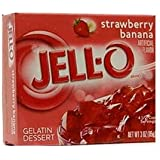 Jell-O Strawberry & Banana Gelatin Dessert 3 OZ (85g)