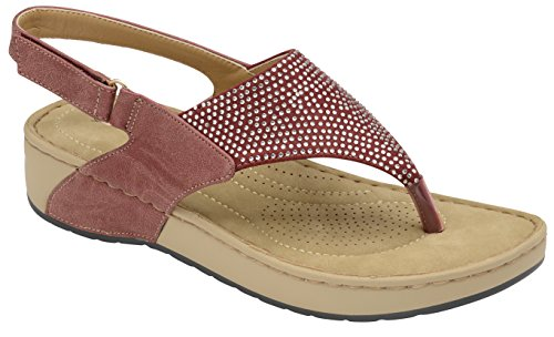 Dunlop con Cinturino Dietro La Caviglia Donna Ruby