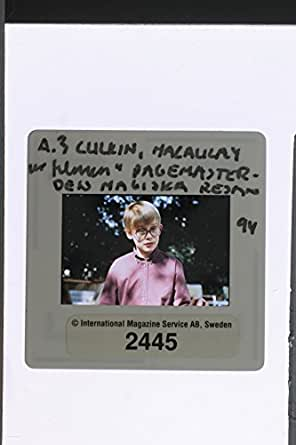 """Slides photo of Macaulay Culkin from the film """"PAGE MASTER THE MAGIC JOURNEY"""""""