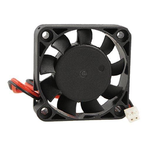 SODIAL(R) Ventilador de Refrigeracion 40mm x 40mm x 10mm 4010 9 Paletas sin Escobillas CC 12V