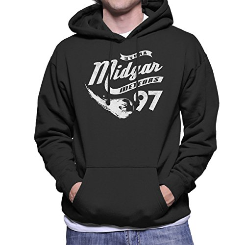 Go Meteors Midgar Final Fantasy VII Men's Hooded Sweatshirt