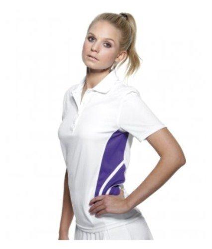 Gamegear ® cootex ® Damen Training Polo Shirt Schwarz - Pink Black