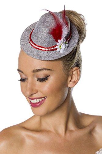 Mini Trachtenhut Hut Tracht Trachten Minihut Oktoberfest München Kordel Meliert Hutkordel Blumen Feder Bayern Dirndl Zubehör Kopfbedeckung