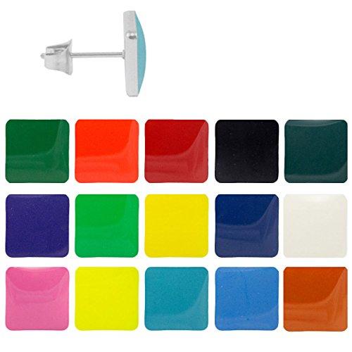 chirurgenstahl-ohrstecker-emaille-quadrat-ohrringe-edelstahl-farbe-grun-grosse-7-mm
