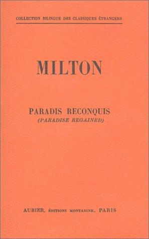 Paradis reconquis (livre non massicoté), bilingue français-anglais