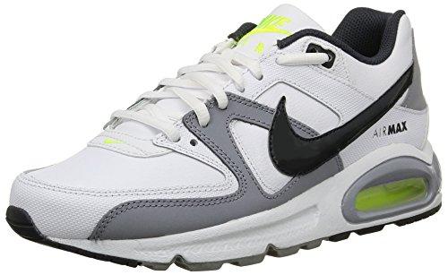 Nike Air Max Command (GS) Scarpe Sportive, Ragazzo White/City Grey-Stealth-Volt