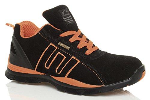 Herren Schnüren Sicherheit Stahlkappe Arbeit Stiefel Sneaker Turnschuhe Größe 8 42