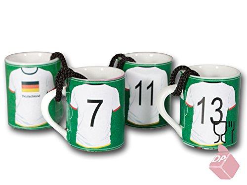 be4To++24 STAMPERL-SCHNAPSKRÜGE FUSSBALL-HANDBALL-DEUTSCHLAND - SPORT - BANNER