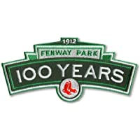 1912 2012 BOSTON RED SOX FENWAY PARK 100TH YEARS LOGO ANNIVERSARY JERSEY PATCH by Emblem Source