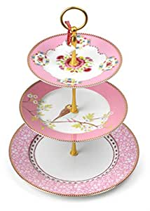 Pip Studio Cake stand 3/layers | pink | One Size