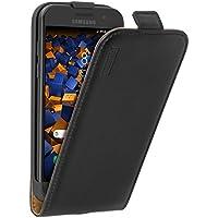 mumbi PREMIUM Leder Flip Case für Samsung Galaxy A3 (2017) Tasche