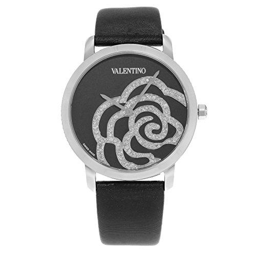 Valentino Rose schwarz v41sbq-9999-ss009Edelstahl Quarz Damen-Armbanduhr