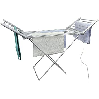 Good Selections Folding Electric Clothes Airer Dryer Amazoncouk