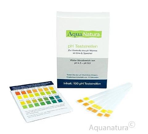 Aquanatura pH Teststreifen (100 Stück) Urin &