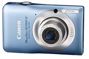 Canon PowerShot SD1300 Appareil Photo Numérique Compact 12.1 Mpix Zoom 4 x Bleu