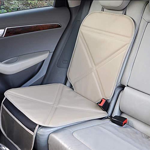 LMHX Universal Anti-Rutsch Kinderautositze Autositzauflage Kindersitzen Autositzschutz, Beige