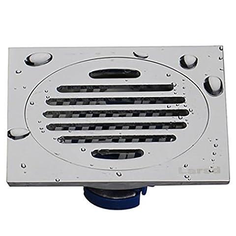 WP Floor Drain Deodorant Toilet Sewer Round Stainless Steel Bathroom