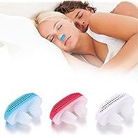 Wekold 2 in 1 Nase Schnarchstopper Anti Snore Relief Schnarchen Atemgerät Schlafen Mini Schnarchen Gerät Luftreiniger... preisvergleich bei billige-tabletten.eu