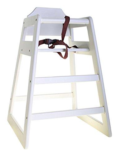 Holz Hochstuhl Treppenhochstuhl Weiss/Kleinkind Kinder Hochstuhl, Kindersitz/Babyschale, Ideal für Den Gewerblichen Und Privaten Gebrauch