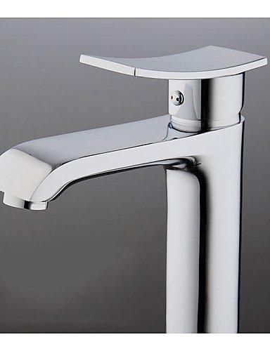 Una maniglia un foro di acqua calda e fredda in ottone rubinetti Ktichen