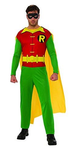 Robin Kostüm Schuhe - Robin-Kostüm Erwachsene, M (Rubies Spain 820963-m)
