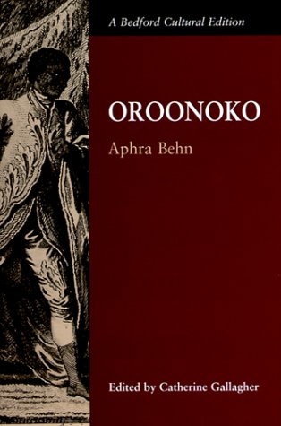 Book cover for Oroonoko
