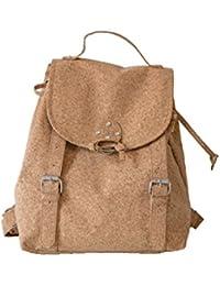 e37c8b9d77ca1 Kork Rucksack - Korktasche - ambeCork Backpack - Umweltfreundlicher  Korkrucksack für Frauen - Kork Tasche klein - Mini Daypack…