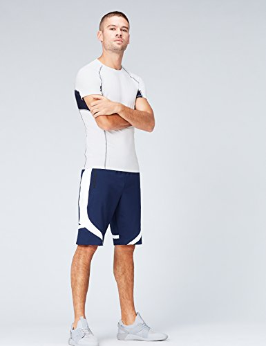 FIND Sport Top Herren Weiß (White/Navy)