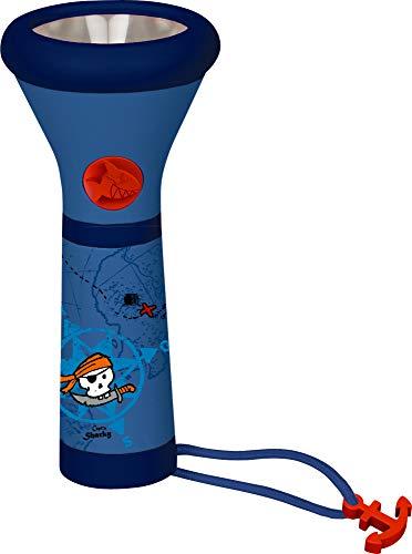 Capt'n Sharky Spiegelburg Kinder Taschenlampe 3 Verschiedene Leuchtmodi (Kinder-taschenlampe)
