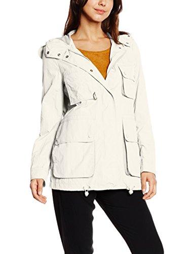 Tommy Hilfiger Damen Jacke GEM PACKABLE WINDBREAKER, Gr. 38 (Herstellergröße: M), Weiß (SNOW WHITE 118)