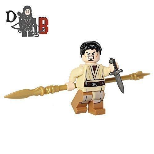 Demonhunter Bricks Eigener Spiel von Thrones Prince Oberyn Martell Die Rot Viper mit Ash spear und assassin's dolch