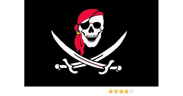 Michael Rene Pflüger Barmstedt 8 4 X 5 4 Cm Autoaufklober Pirat Totenkopf Skull Mit Säbel Und Kopftuch Sticker Aufkleber Füs Auto Motorrad Handy Laptop Auto
