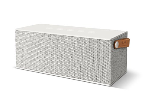 Fresh ´n Rebel -Rockbox Brick XL Fabriq Edition- tragbarer, kabelloser Lautsprecher mit Bluetooth 4.2, inklusive Micro-USB-Ladekabel, Farbe Cloud (Xl-brick)