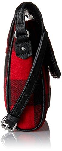 ESPRIT - 097ea1o046, Borse a spalla Donna Rosso (Red)