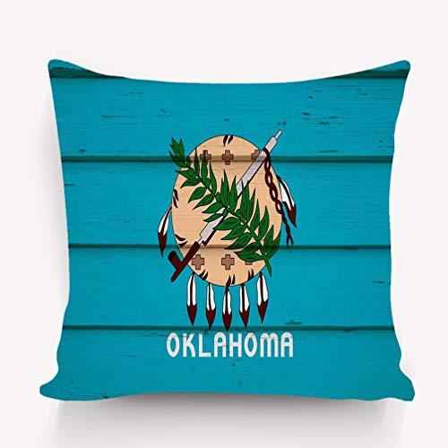 Kissenbezüge Throw Pillow Cushion Cover, Colorful Modern Design Digital Modern Art Print, Decorative Square Accent Pillow Case, 18 X 18 inches, oklahoma wood oklahoma state flag wood hi res imag -