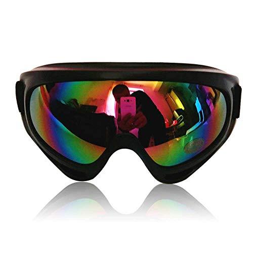 AOLVO Skibrille, verstellbar, UV-Schutz, tragbare Schwimmbrille für Erwachsene, Antibeschlag-Motorrad, Snowboard-Brille, Outdoor-Zubehör #04