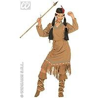 Widmann Costume vestito Indiana Pocahontas carnevale donna
