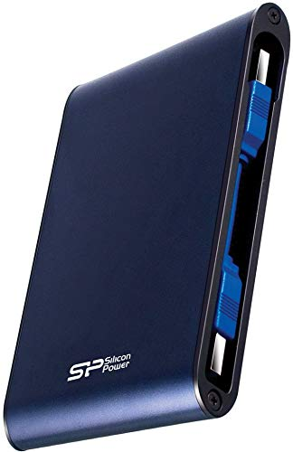 Silicon Power Rugged Armor A80 1 TB 2.5-Inch USB 3.1 External Hard Drive (Blue) 1