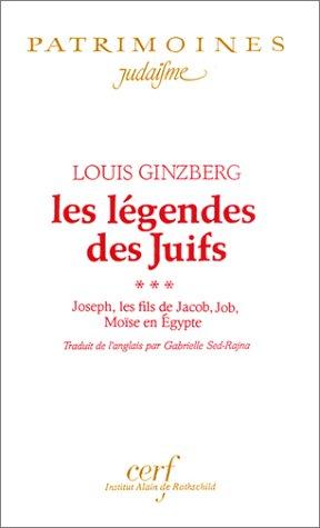 Les Légendes des Juifs par Louis Ginzberg