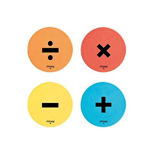Preisvergleich Produktbild Bodenmarkierung Rechenzeichen +, -, x, : (4 Stück)